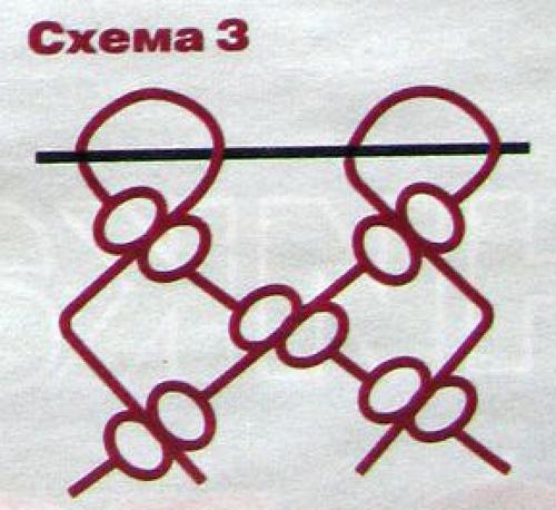 макраме схема