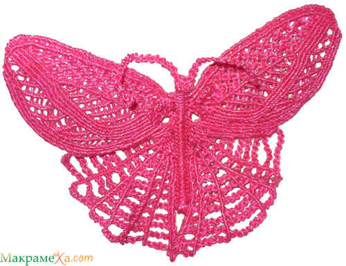 Не то бабочка, не то стрекоза.