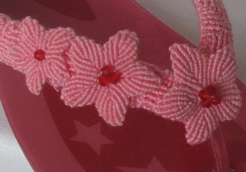 схеме плетения макраме