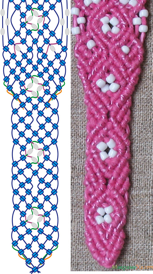 плетем хлястик. макраме пояс, макрамеха.