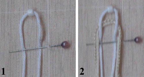 подробная схема плетения