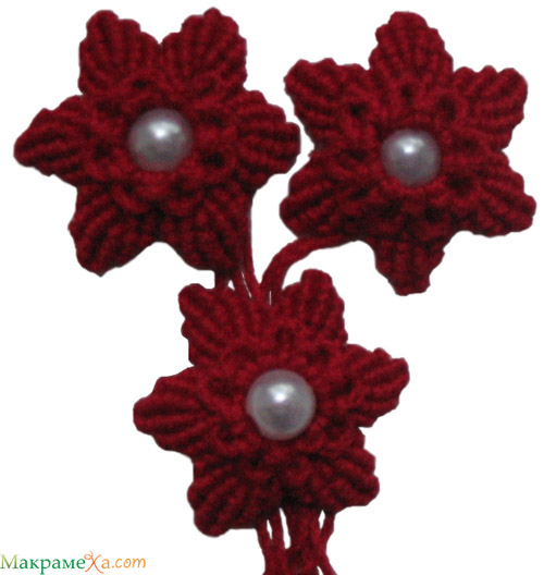 Макраме, фото бесплатно, как плести цветок макраме