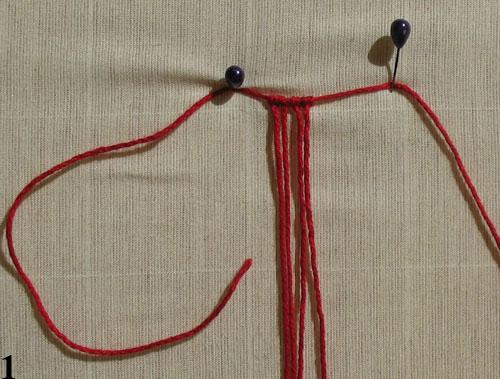 плетем листик макраме. макраме, макрамеха, мастер класс. отделка одежды.  Макраме цветок с бусиной в серединке.