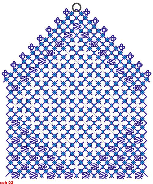 схема макраме