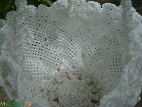 Плетение кашпо для цветов в технике макраме 2 - Плетение кашпо в технике...