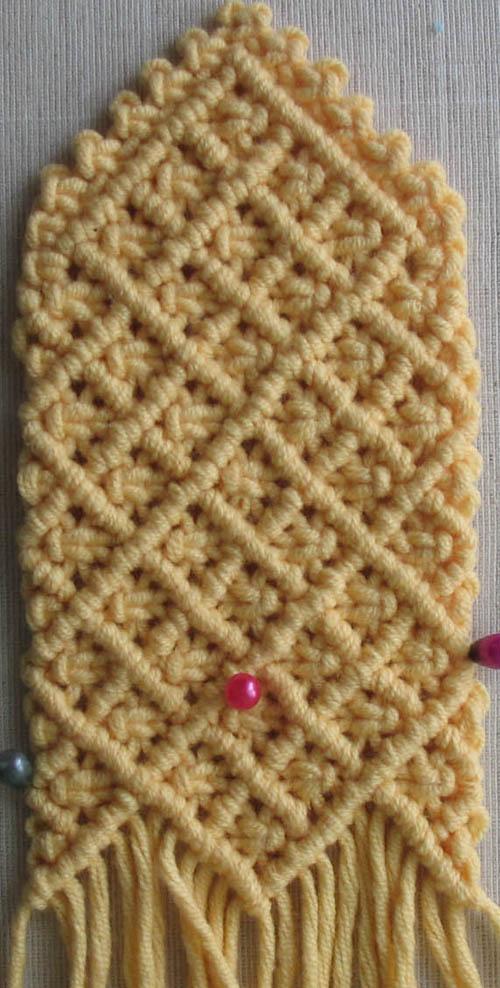 Схемы вязания крючком что означает крестик