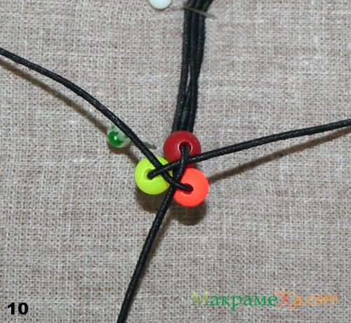 плетем резинку своими руками макраме