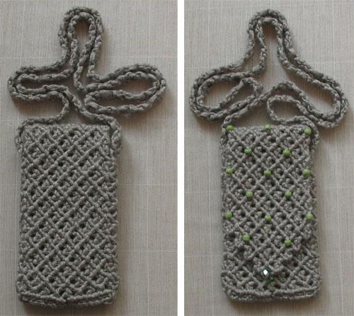 сумочка для телефона вид