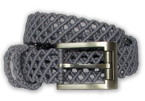 Плетеный мужской ремень