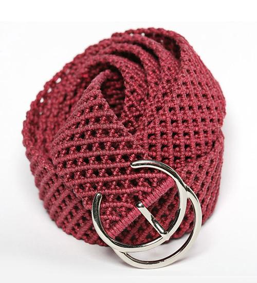 мастер - класс, плетение пояса