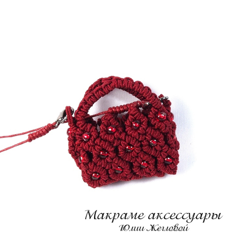 Мини-сумка кулон